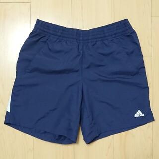 アディダス(adidas)のadidas レディース 短パン 紺 L(ウェア)