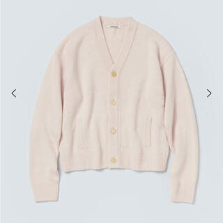 1LDK SELECT - AURALEE 21AW BABY CASHMERE KNIT CARDIGAN