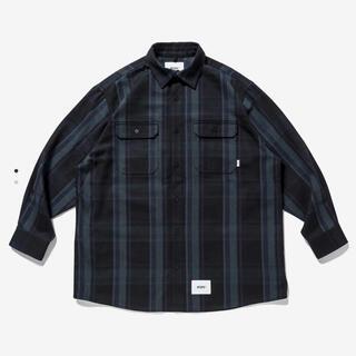 W)taps - wtaps 21aw deck ls/cotton.flannel.