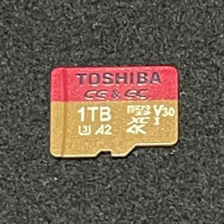 東芝 - マイクロSDカード 1TB