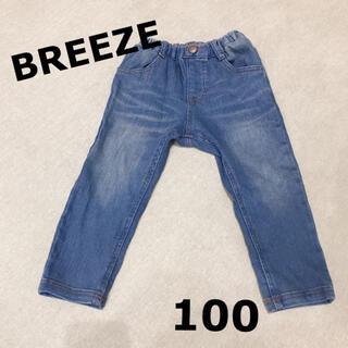 ブリーズ(BREEZE)のエフオーキッズ ブリーズ BREEZE  デニムパンツ 100(パンツ/スパッツ)