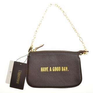 L'Appartement DEUXIEME CLASSE - GOOD GRIEF 20aw Cellular phone Bag