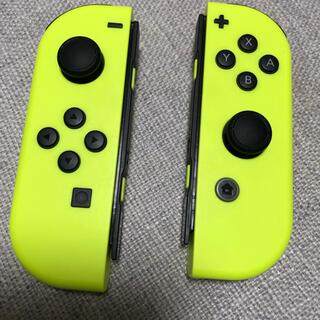 Nintendo Switch - Switch ジョイコン  イエロー