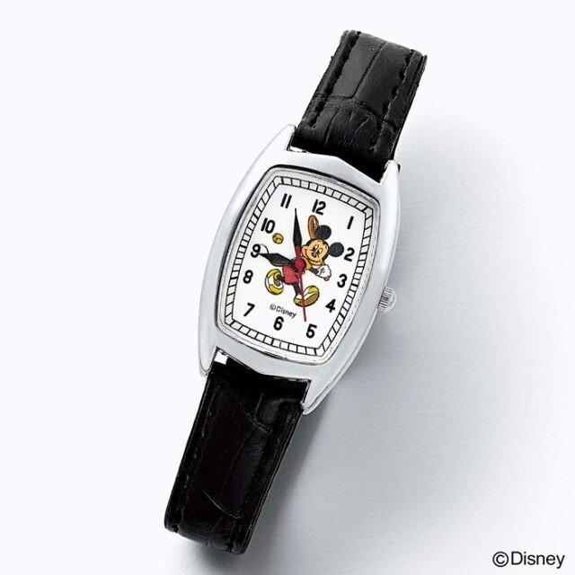 ミッキーマウス(ミッキーマウス)のotona MUSE   付録  ヴィンテージ調 ミッキーマウス 腕時計 レディースのファッション小物(腕時計)の商品写真