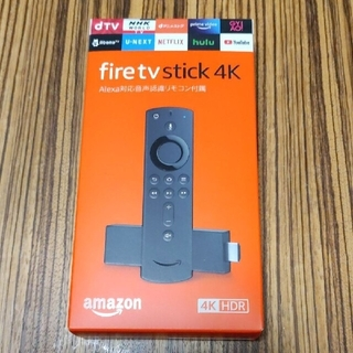 Fire TV Stick 4K - Alexa対応音声認識リモコン付属 新品お