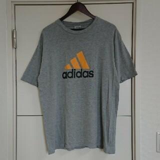 adidas - adidas アディダス Tシャツ 90s古着 両面ロゴ ビッグシルエット