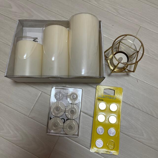 IKEA(イケア)のIKEA キャンドルセット コスメ/美容のリラクゼーション(キャンドル)の商品写真