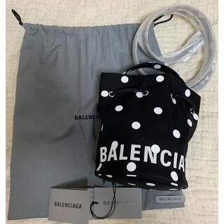 Balenciaga - バレンシアガ  BALENCIAGA ドローストリング ショルダーバッグ ドット