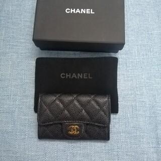 CHANEL - ❣️即納、美品 シャネル✿  黒 コインケース 箱付き