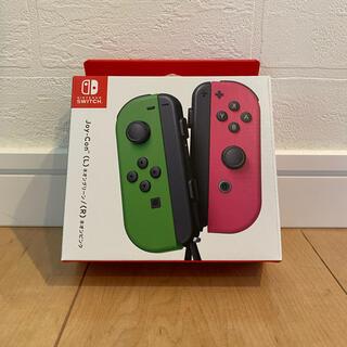 ニンテンドースイッチ(Nintendo Switch)のクーポン★Switch ジョイコン Joy-Con ネオングリーン/ネオンピンク(その他)