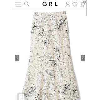 GRL - 【GRL】花柄マーメイドロングスカート