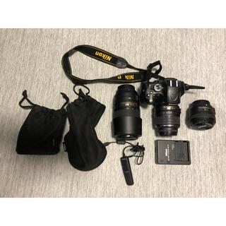 Nikon - Nikon D5100 ダブルズームキット+単焦点レンズ