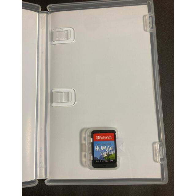 Nintendo Switch(ニンテンドースイッチ)のヒューマン フォール フラット Switch エンタメ/ホビーのゲームソフト/ゲーム機本体(家庭用ゲームソフト)の商品写真