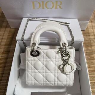 Christian Dior - ディオール CDior レディディオール カナージュ ラムスキン 美品