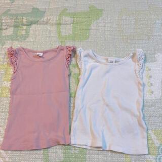 ベビーギャップ(babyGAP)のbaby gap フリルタンクトップ 2枚(Tシャツ)