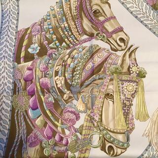 Hermes - エルメス カレ 90 La Danse du Cheval Marwari