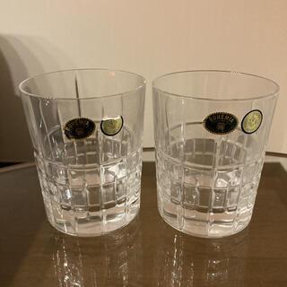 ボヘミア クリスタル(BOHEMIA Cristal)のボヘミアングラス 2個セット(グラス/カップ)