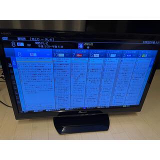AQUOS - シャープ AQUOS LC-24K20 テレビ  24インチ