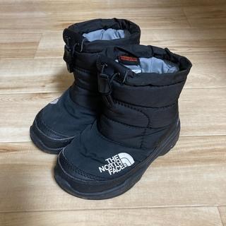 ザノースフェイス(THE NORTH FACE)のノースフェイス スノーブーツ 17センチ ブラック(ブーツ)