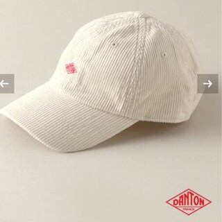 DANTON - 新品 DANTON/ダントン 6PANEL CAP ナチュラル