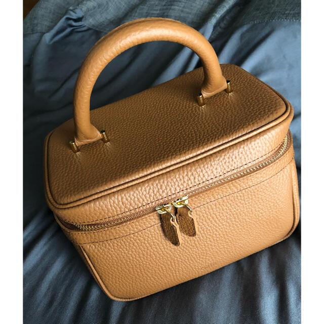 ☆ ch!iii bag Vanity   camel レディースのバッグ(ハンドバッグ)の商品写真