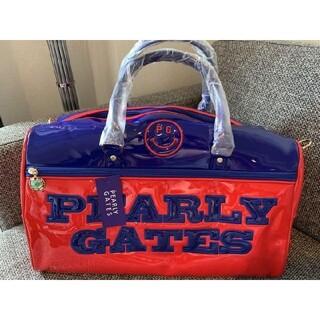 PEARLY GATES - パーリーゲイツ pearly gates ボストンバッグ  新品未使用