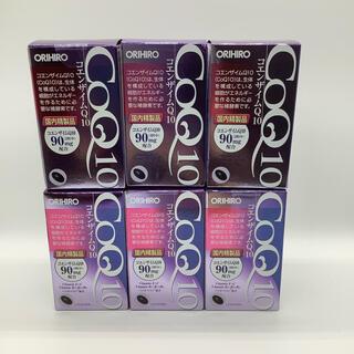 オリヒロ(ORIHIRO)の【新品】オリヒロ  コエンザイムQ10  6箱セット(その他)