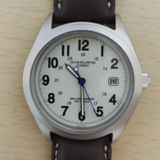 CASIO - casio overlande ov-100 ソーラー時計