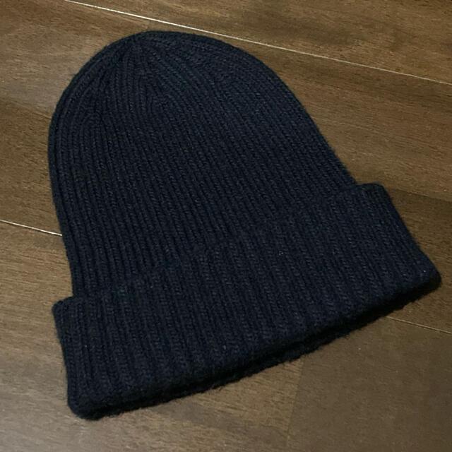 THE NORTH FACE(ザノースフェイス)の【美品】THE NORTH FACE/ザ・ノースフェイス ニット帽 ネイビー メンズの帽子(ニット帽/ビーニー)の商品写真