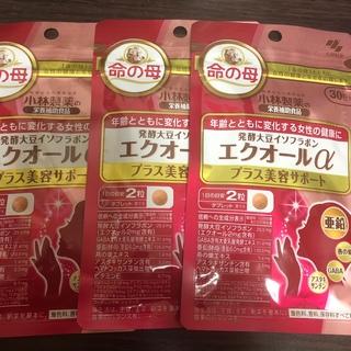小林製薬 - 発酵大豆イソフラボン エクオールα プラス美容サポート ♡
