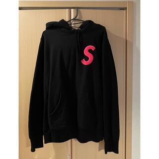 Supreme - supreme S logo hoodied sweatshirt
