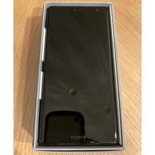 エクスペリア(Xperia)のXperia XZ2 SOV37 スマホ  SIMフリー Black(スマートフォン本体)