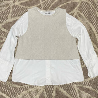 ZARA - ZARA ドッキングシャツ