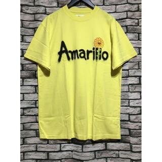 Jバルヴィン×村上隆★Amarillo スプレーフラワープリントTシャツ