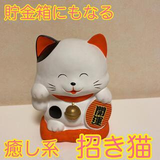 何だか癒される♡ ほっこり 風水 開運  陶器 癒し系 まねきねこ 招き猫