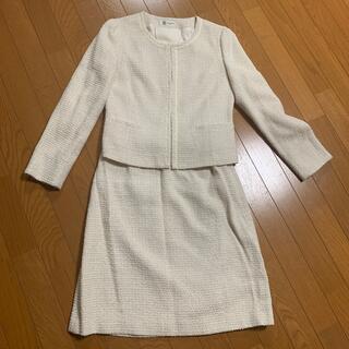 ミッシェルクラン(MICHEL KLEIN)のツイード スーツ上下 入園式 入学式 (スーツ)