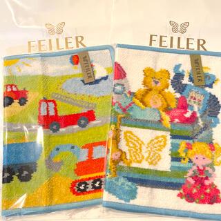 FEILER - 【新品】フェイラーFEILER タオルハンカチ 2枚セット プレゼント袋付