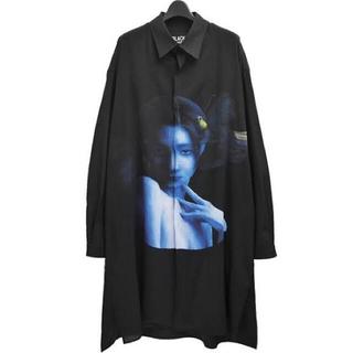 Yohji Yamamoto - ヨウジヤマモト 運命の輪ボタンシャツ