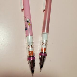 ミツビシエンピツ(三菱鉛筆)のクルトガ スヌーピー ピンク 2本セット 0.5(ペン/マーカー)