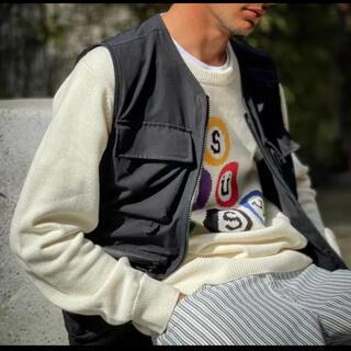STUSSY - ステューシービリヤードstussy billiard sweater 21ss