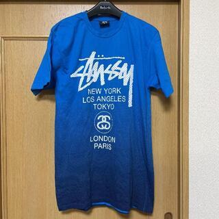 STUSSY - ◆STUSSY ステューシー Tシャツ 半袖 M ロゴ