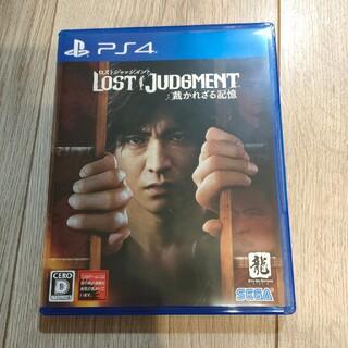PlayStation4 - ロストジャッジメント 裁かれざる記憶