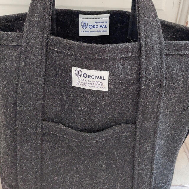 ORCIVAL(オーシバル)のORCIVAL オーシバル オーチバル トートバッグ メルトン S レディースのバッグ(トートバッグ)の商品写真