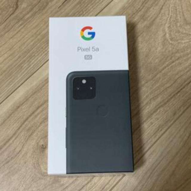 Google Pixel(グーグルピクセル)の新品同様 Google pixel5a 5G 128GB SIMフリー おまけ付 スマホ/家電/カメラのスマートフォン/携帯電話(スマートフォン本体)の商品写真