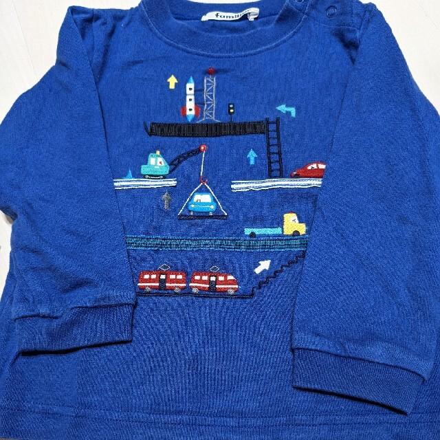 familiar(ファミリア)のファミリア90 キッズ/ベビー/マタニティのキッズ服男の子用(90cm~)(Tシャツ/カットソー)の商品写真