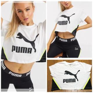 プーマ(PUMA)のPUMA プーマ クロップドTシャツ ショートトップス ナイキ アディダス(Tシャツ(半袖/袖なし))