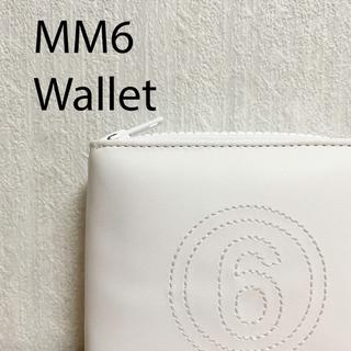 Maison Martin Margiela - mm6 折り畳み財布 白 新品未使用