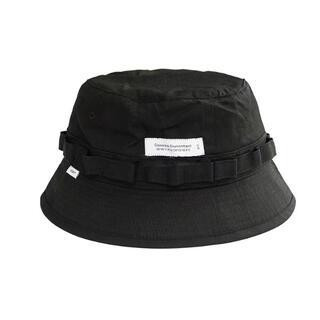 WTAPS 21SS ブラック ハットサイズ M