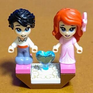 レゴ(Lego)のレゴ★マイクロフィグ アリエル&エリック王子 新品(キャラクターグッズ)