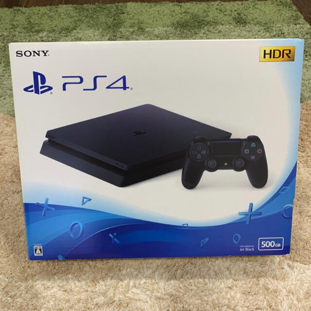 PlayStation4(プレイステーション4)のPlayStation4 プレステ4 本体 PS4 500GB ブラック エンタメ/ホビーのゲームソフト/ゲーム機本体(家庭用ゲーム機本体)の商品写真